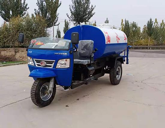 柴油机动三轮洒水车