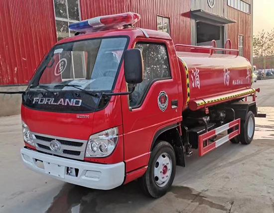 罐式消防车